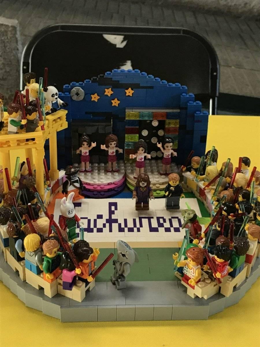 Brick Fest Lego Chile: El set de TV de Cachureos, Dragon Ball, y el Estadio Nacional brillaron