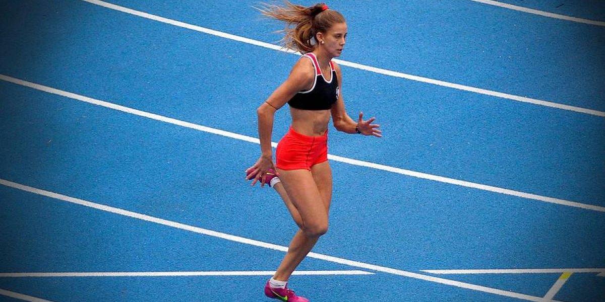 Una notable Isidora Jiménez pulverizó el récord chileno de los 100 metros y va por medalla en Cocha 2018