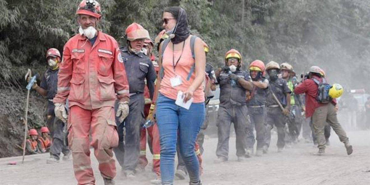 Reanudan búsqueda de los 192 desaparecidos por erupción del volcán de Fuego