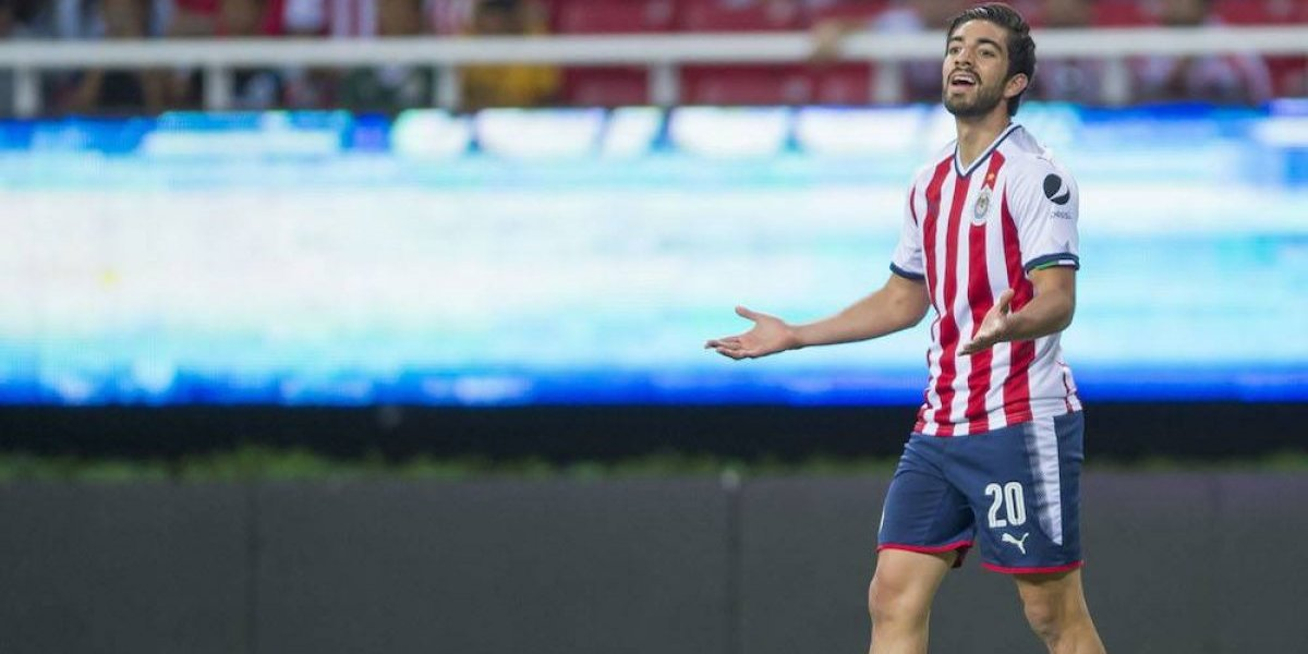 Rodolfo Pizarro se despide de Chivas con emotiva carta
