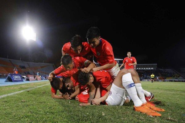 La Roja Sub 20 gritó fuerte en Cochabamba / imagen: CARLOS VERA / COMUNICACIONES ANFP