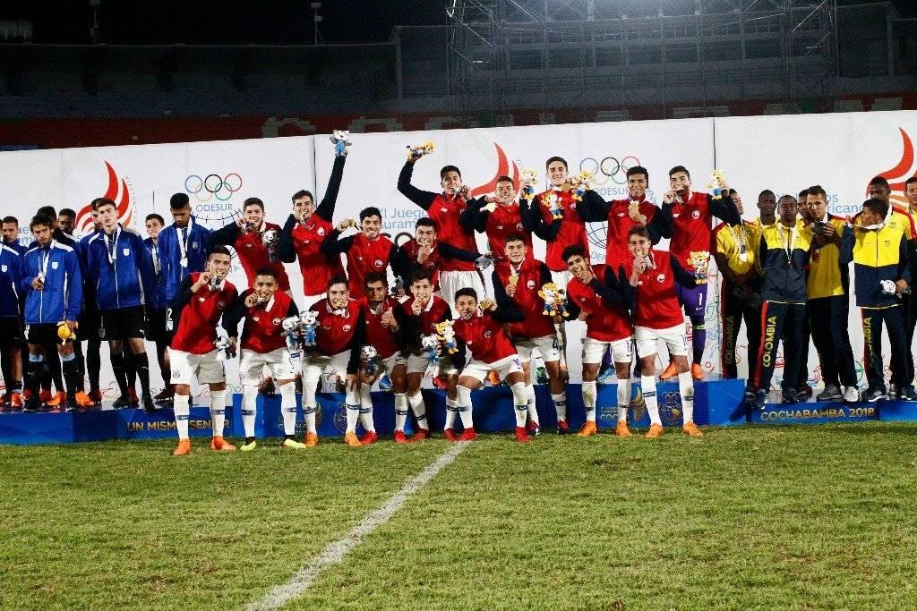 El oro en Cochabamba coronó la gran preparación de la Sub 20 / imagen: La Roja Sub 20 se lució en Cochabamba / imagen: CARLOS VERA / COMUNICACIONES ANFP