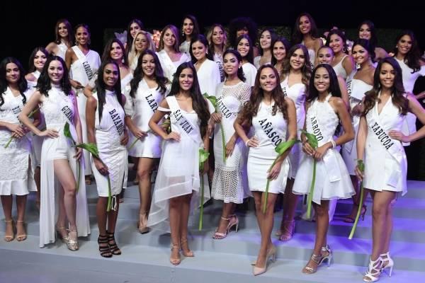 candidatas Miss Universe Puerto Rico 2018
