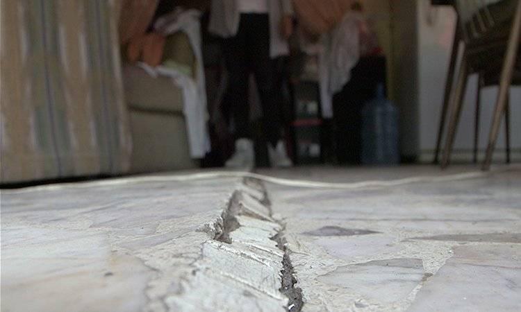Los hundimientos llegan a dañar las estructuras de las viviendas. Foto: UnoTV