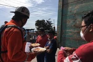 Solidaridad en San Juan Comalapa