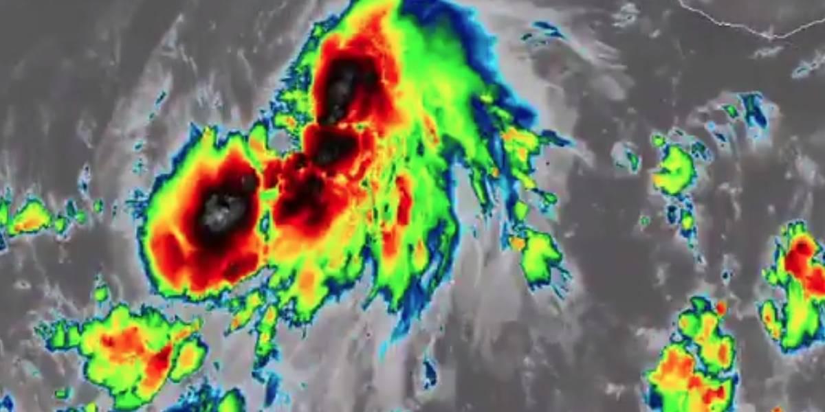 La tormenta Aletta sigue fortaleciéndose, pero se aleja