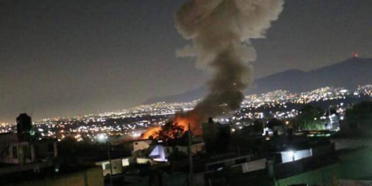 Tultepec: explosión de polvorín suma siete muertos y nueve heridos