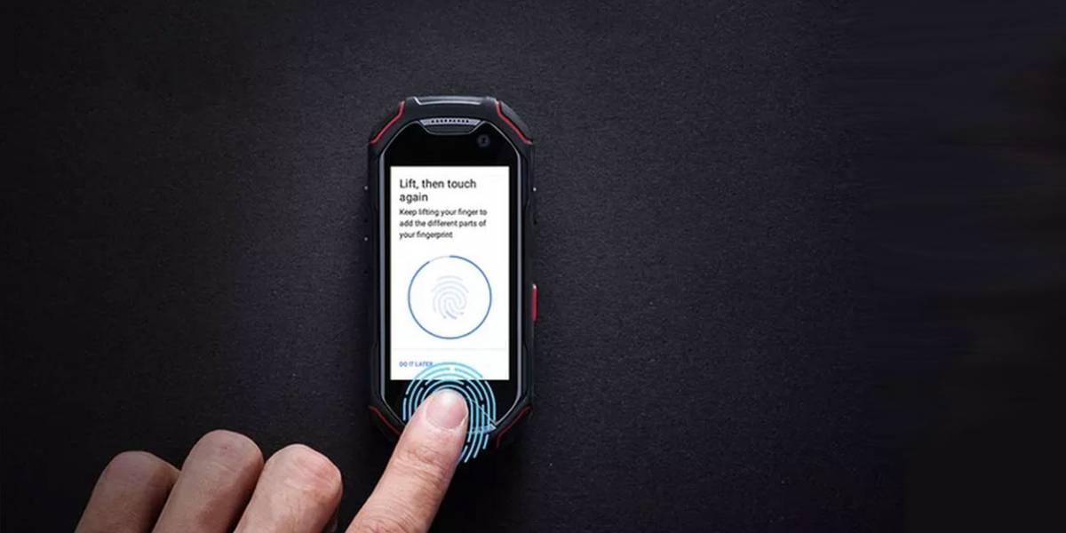 Unihertz Atom es un smartphone miniatura con lector de huellas
