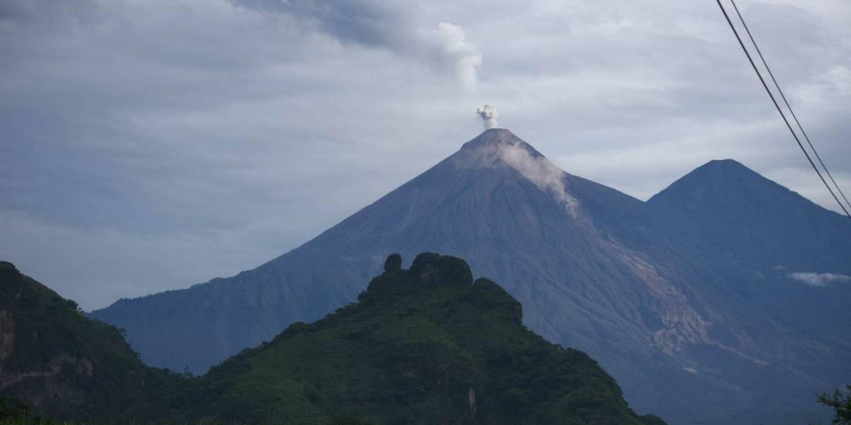 Insivumeh realiza nuevo mapa de amenazas en el volcán de Fuego