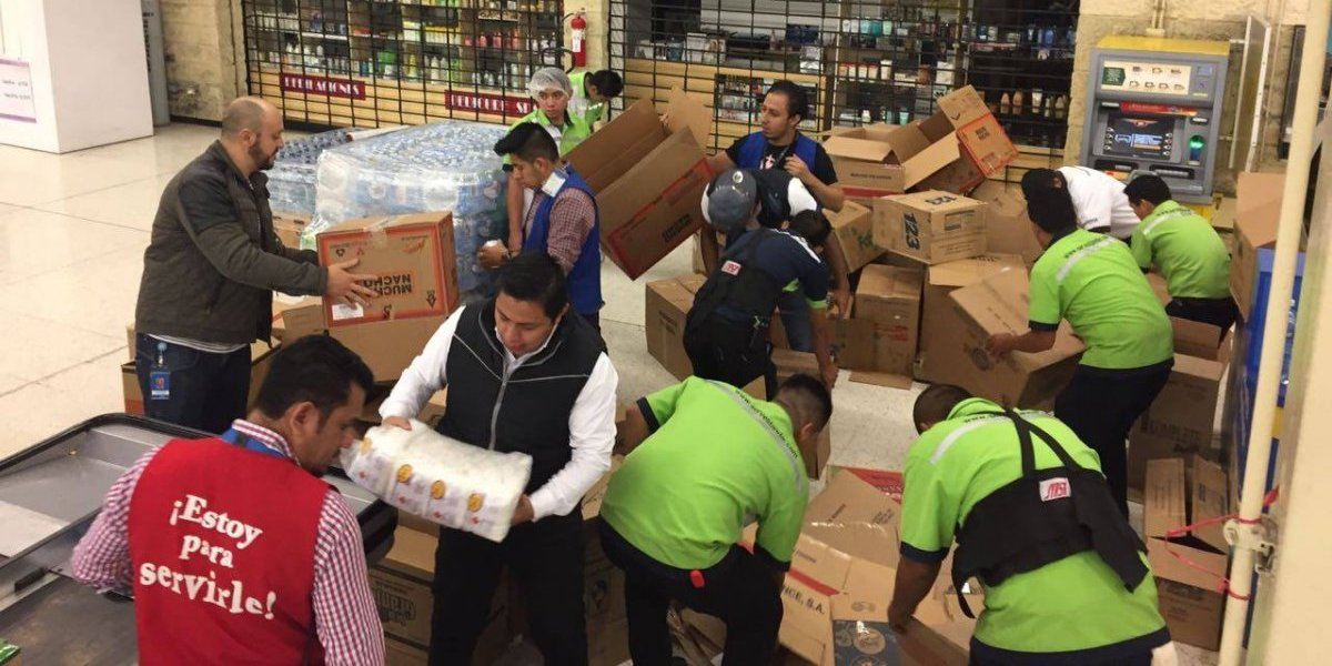 Walmart realiza donación de 10 mil dólares en víveres, medicamentos e insumos