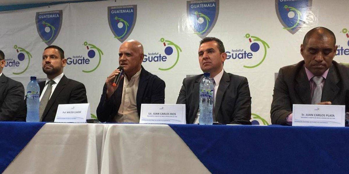 Claverí retoma el mando al frente de la selección de Guatemala