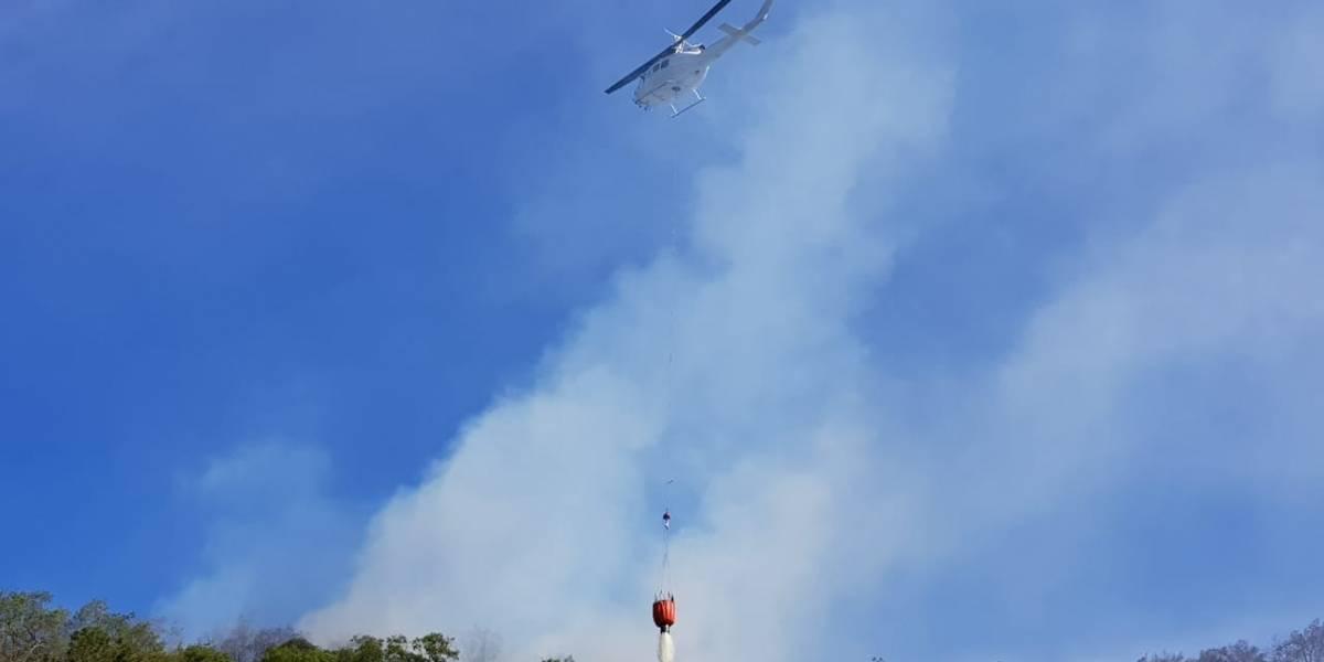 Nuevo León enfrenta 4 incendios forestales, uno en límites con Coahuila