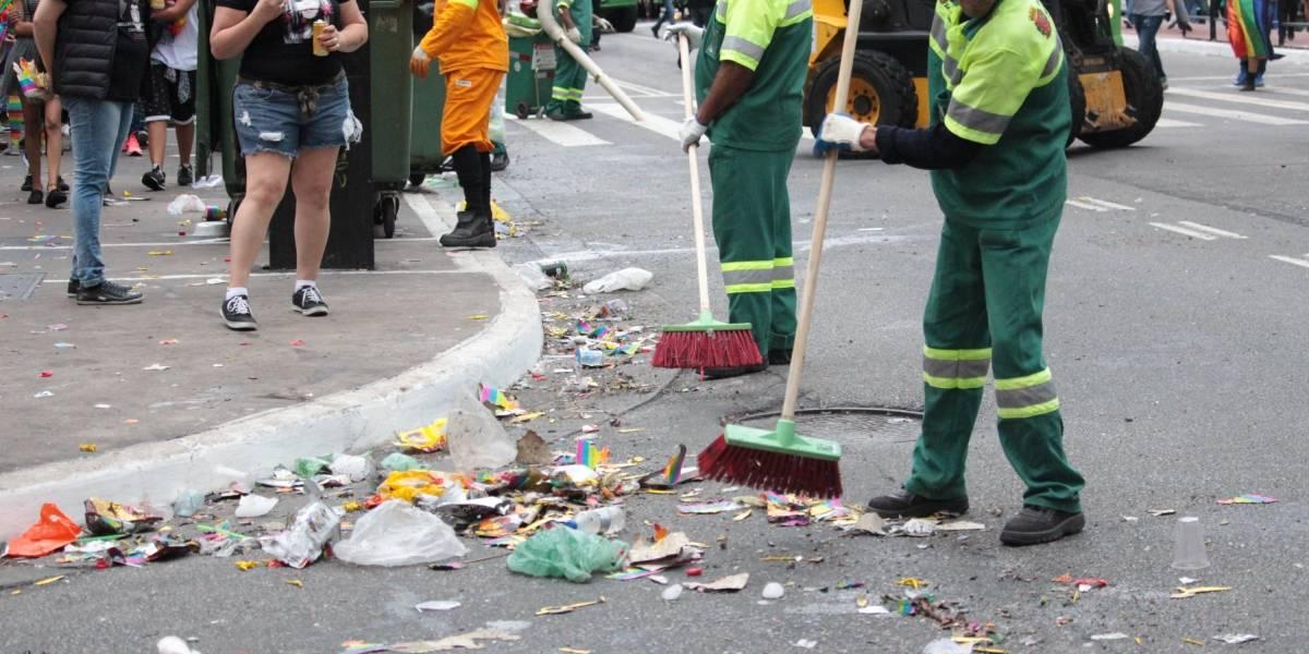 Cidade de São Paulo corre o risco de não ter mais vias limpas por garis; entenda