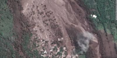 Tragedia por el volcán de Fuego