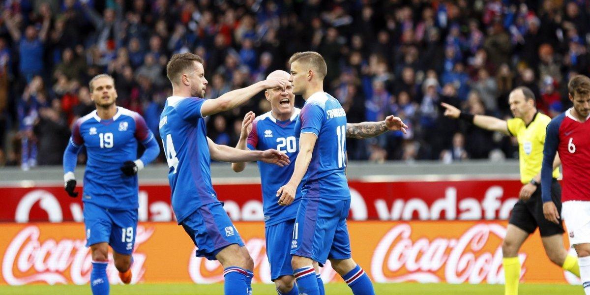 Islandia realiza la última prueba, antes de medirse a Argentina