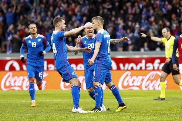 Goles de Islandia vs Ghana partido amistoso