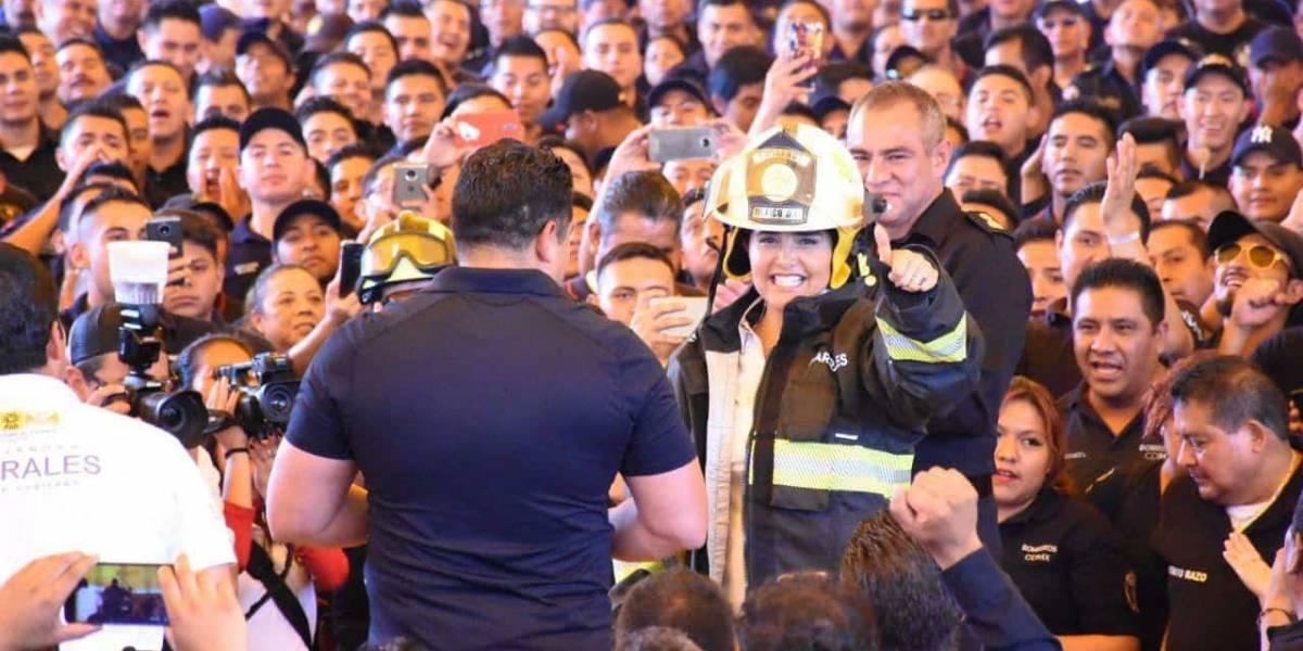 Piden a candidatos de la CDMX no usar bomberos en campañas