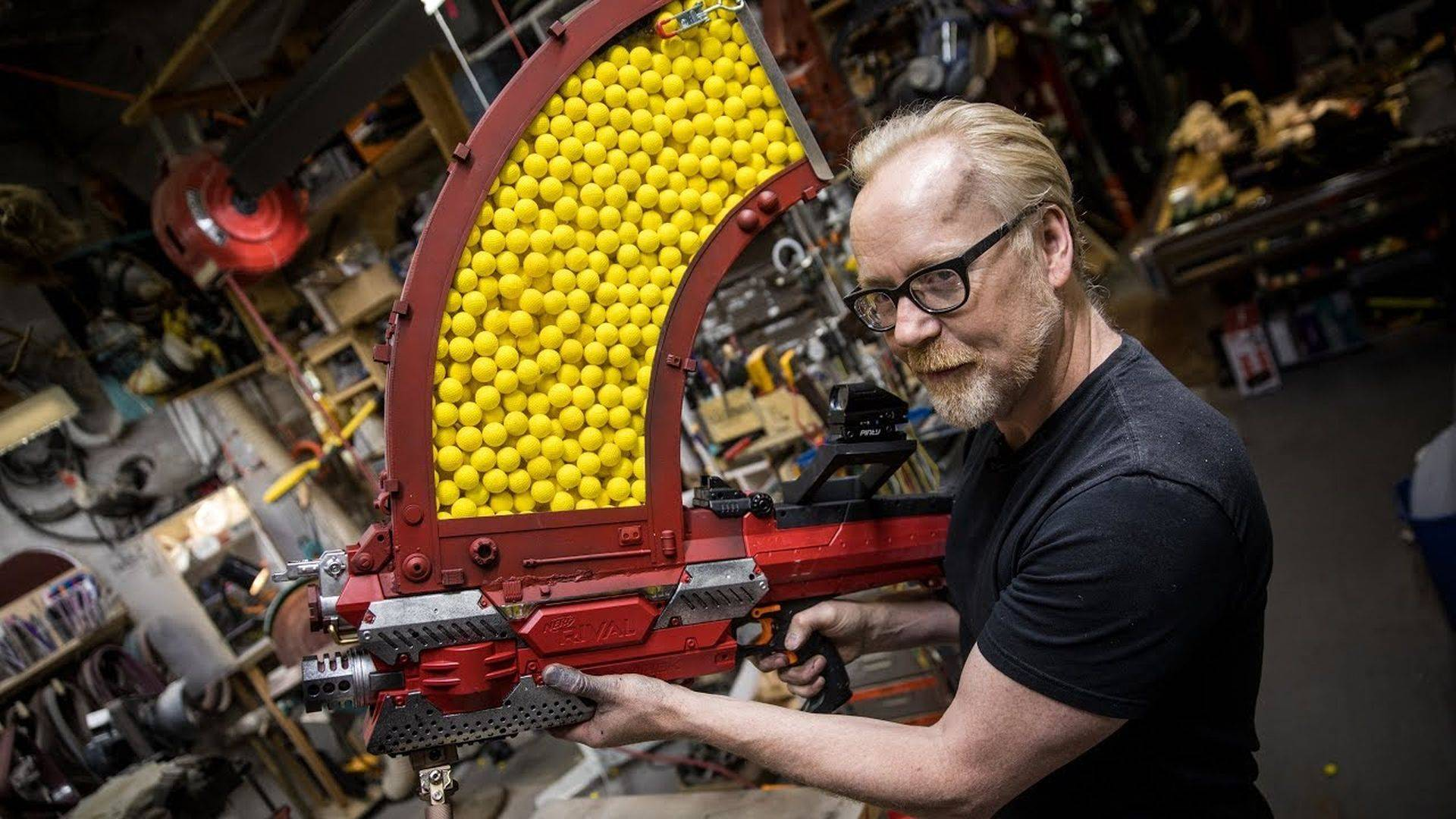 Adam Savage Nerf