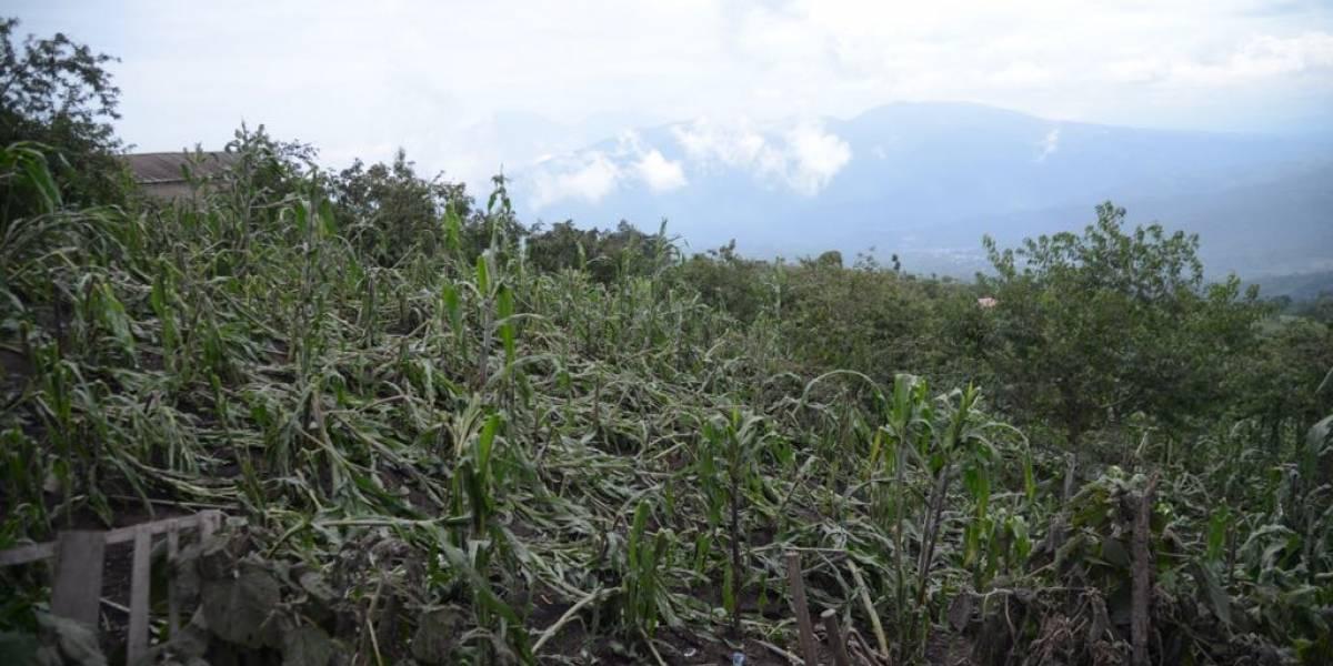 La Soledad: una aldea sin cultivos ni turismo por el volcán de Fuego