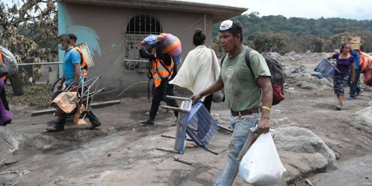 Plan internacional crea campaña mundial para brindar apoyo psicológico a niños víctimas del volcán de Fuego