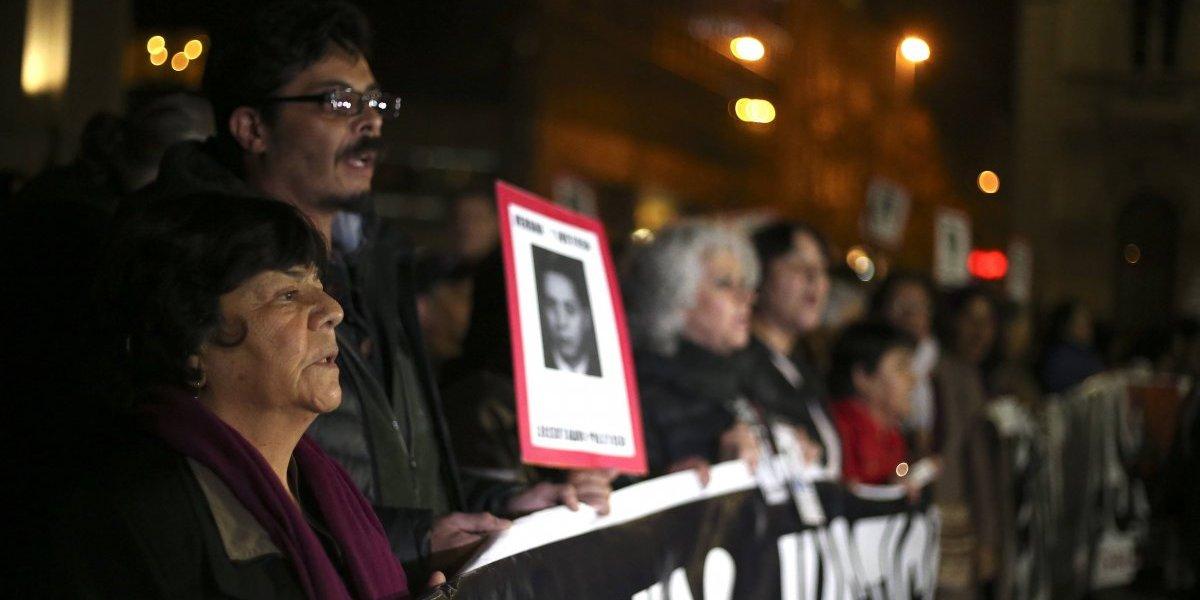 Se movilizaron por la Alameda: mil activistas marcharon por los DDHH y el cierre de Punta Peuco