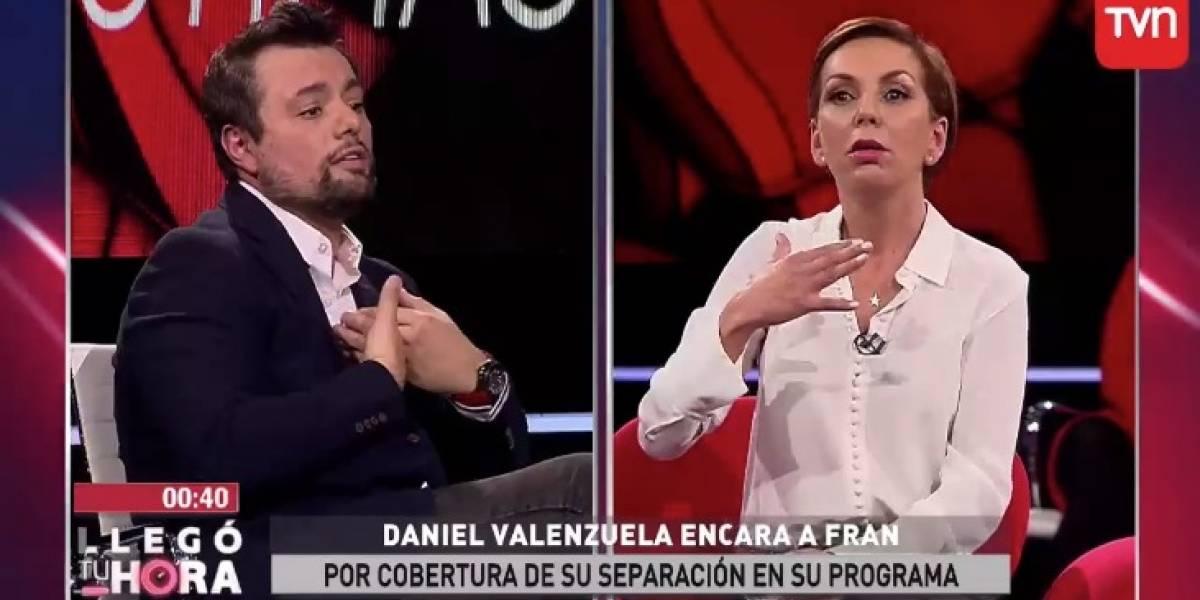 """Tuvo que pedir disculpas: El duro round entre Fran García Huidobro y Daniel Valenzuela en """"Llegó tu hora"""""""