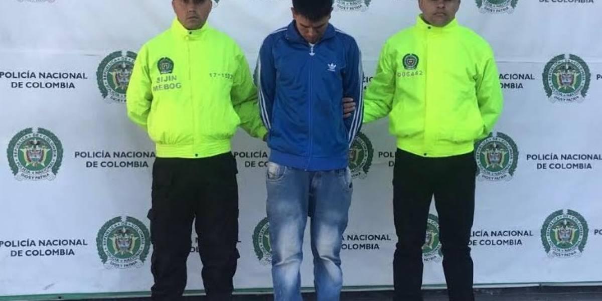 Capturan en Bogotá al presunto asesino del profesor del Idrd