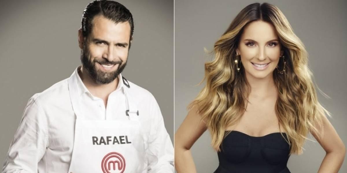 Claudia le lanzó gracioso y picante piropo a Rafael Novoa en 'MasterChef Celebrity'
