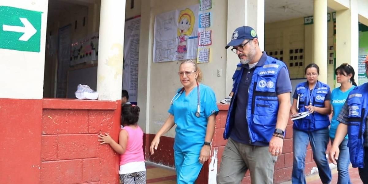 Organizaciones de la Salud ponen a disposición material para personas quemadas por el volcán de Fuego