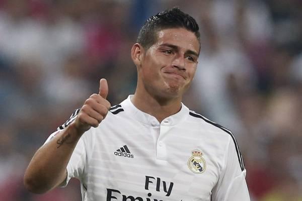 James Rodríguez regresaría al Real Madrid para la próxima temporada