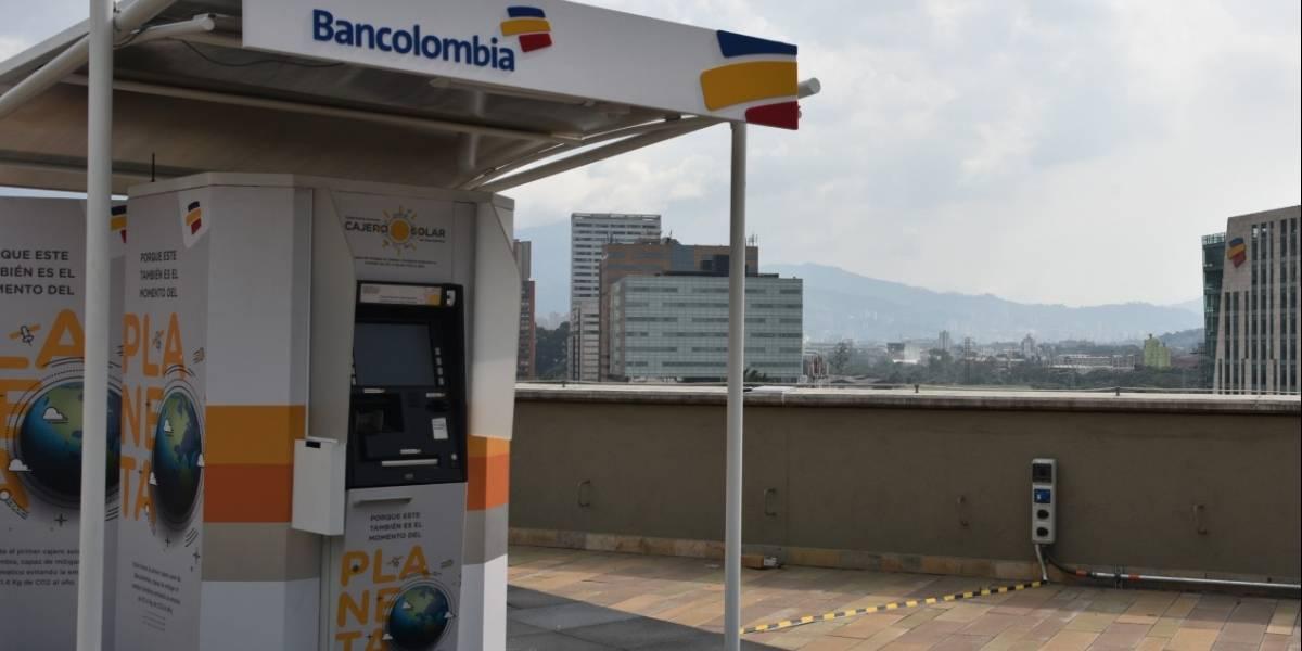 Este es el primer cajero automático solar que aterriza en Colombia