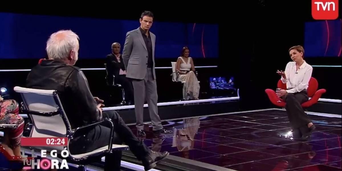 """¿No te da lata ser la 'niña símbolo' de la TV basura?"": La fuerte pregunta de ""Rumpy"" a Fran García Huidobro en ""Llegó tu hora"""