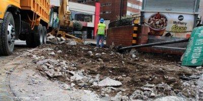 Municipio de Quito rehabilita aceras para peatones con movilidad reducida