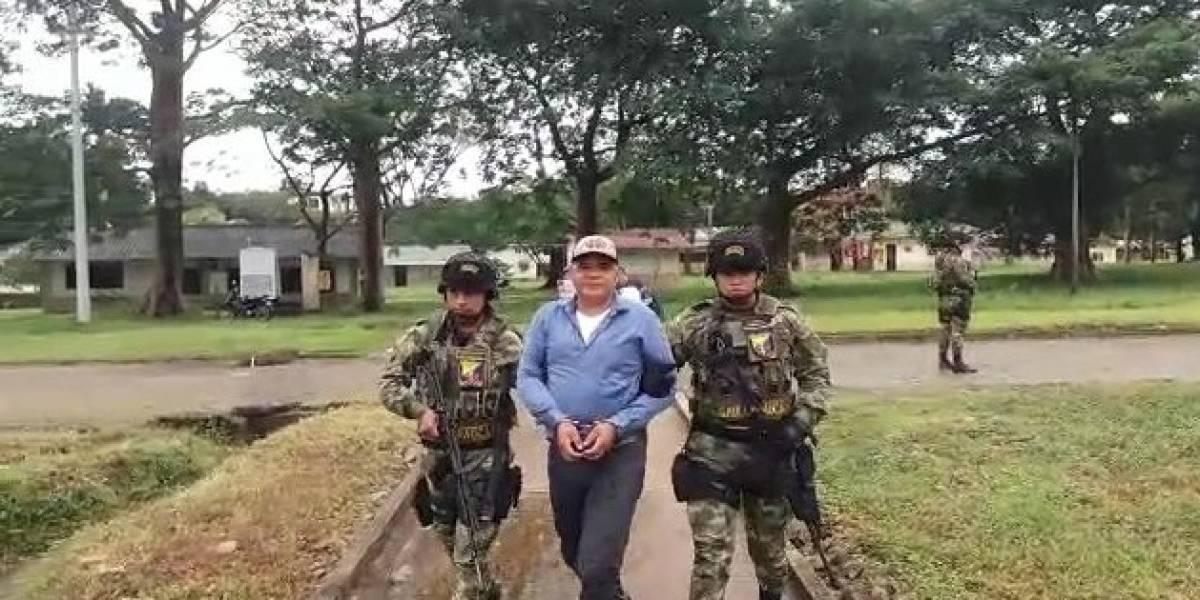 Autoridades colombianas capturan a alias 'El Pija', jefe de disidentes de las FARC