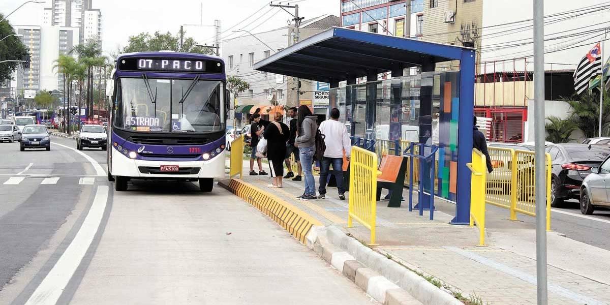 São Bernardo inaugura 1º corredor de ônibus
