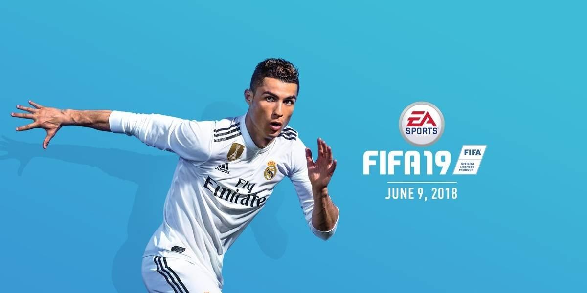 Cristiano Ronaldo será la portada del FIFA 19