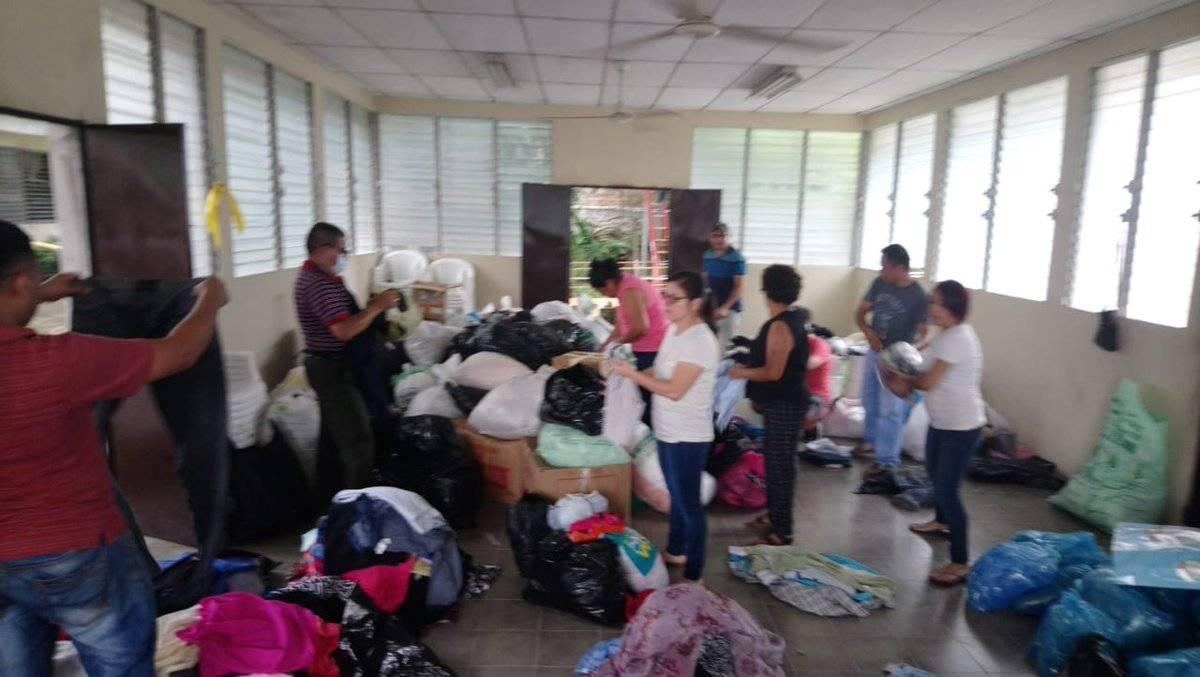 donativo de El Salvador