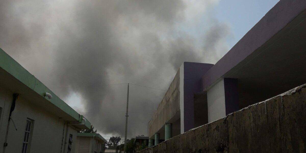 Reportan fuego en fábrica de metales de Salinas