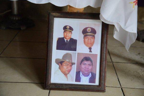 Bombero desaparecido funeral