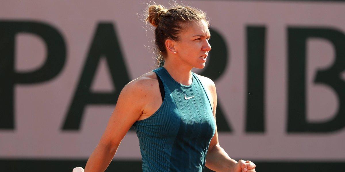 Halep y Stephens arrasan en su camino a la final femenina de Roland Garros