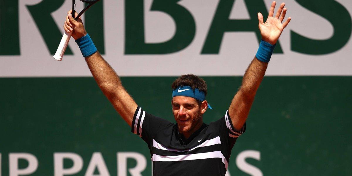 Del Potro borró a Cilic y desafiará a Nadal en semis de Roland Garros