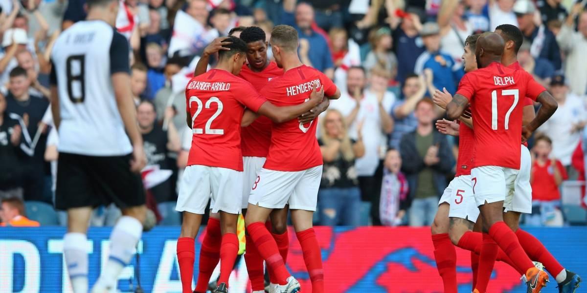 Inglaterra mete miedo de cara al Mundial Rusia 2018 con victoria sobre Costa Rica
