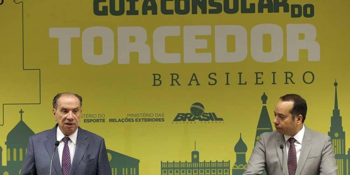 Governo lança guia para orientar brasileiros que vão à Copa na Rússia