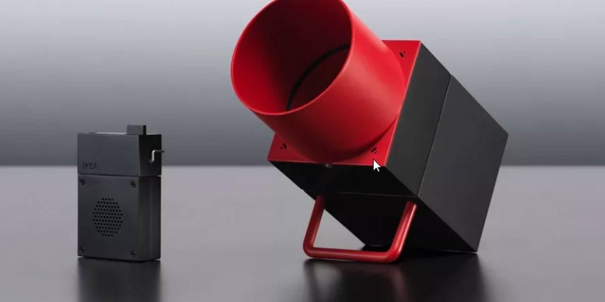 IKEA y Sonos presentan su parlante inteligente SYMFONISK con prototipos huecos