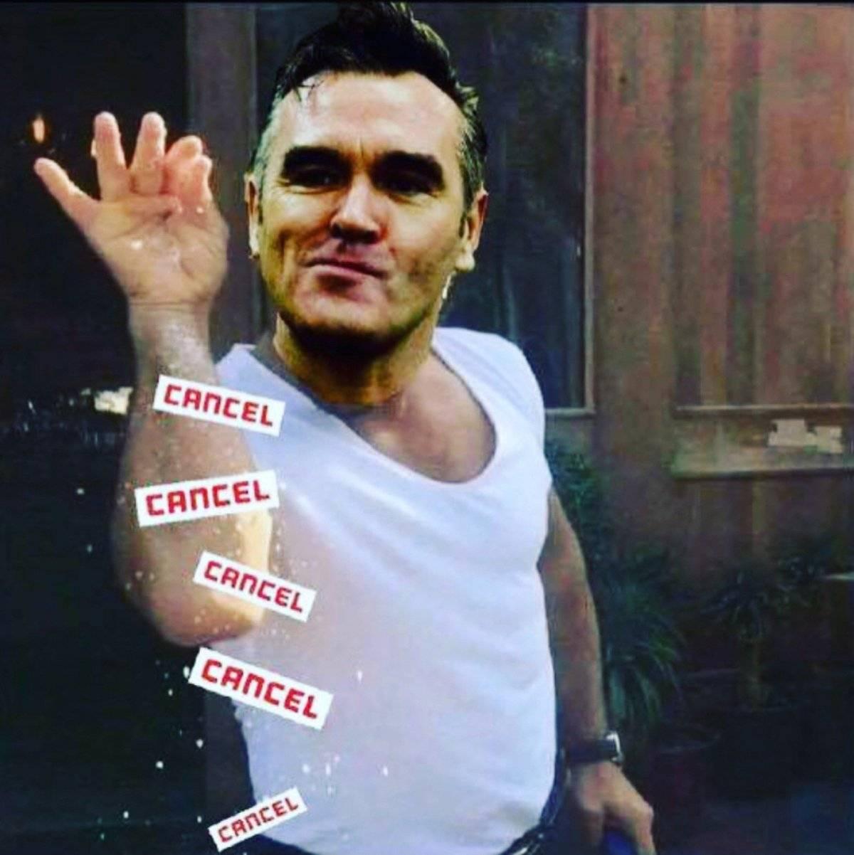 Meme de Morrissey.