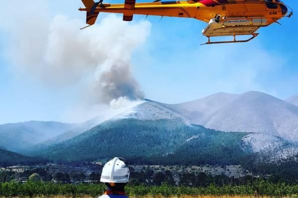 Incendio en Coahuila