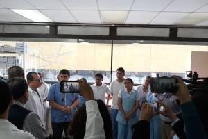 intensivo en el hospital San Juan de Dios para quemados por erupción del volcán de Fuego