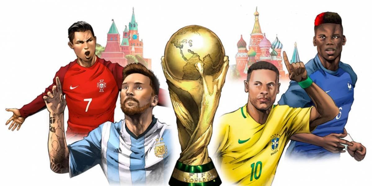 Marvel lanza cómic con motivo del Mundial de Rusia 2018