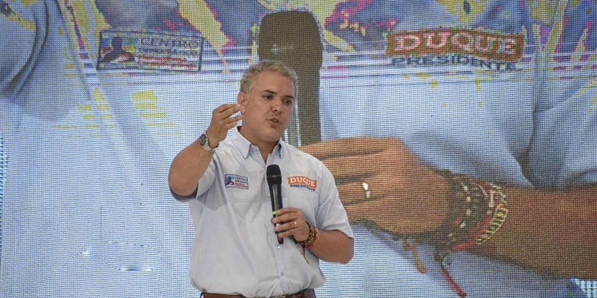"""""""Yo estoy listo para la confrontación siempre"""": Iván Duque"""