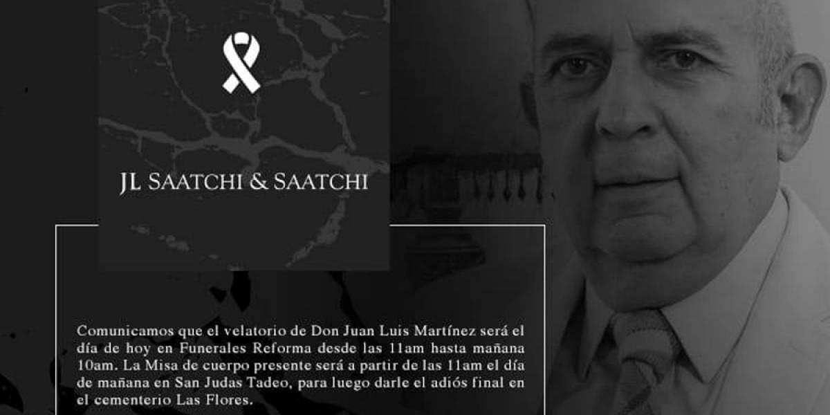 Fallece Juan Luis Martínez, presidente y fundador de 4am Saatchi & Saatchi